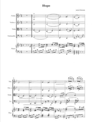 Sheet Music for